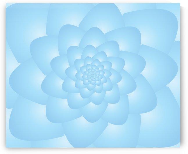 Pastel Blue Art by rizu_designs
