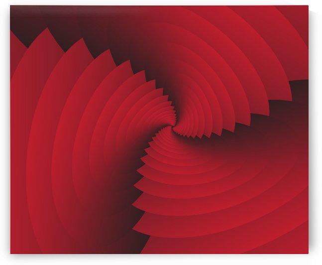 Trendy Reddish Art by rizu_designs
