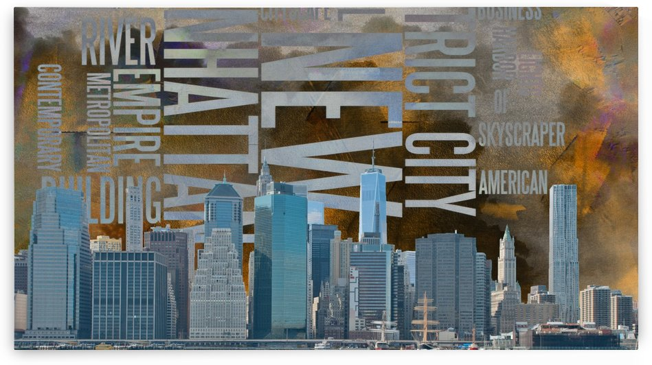 NYC Landscape by Bruce Rolff