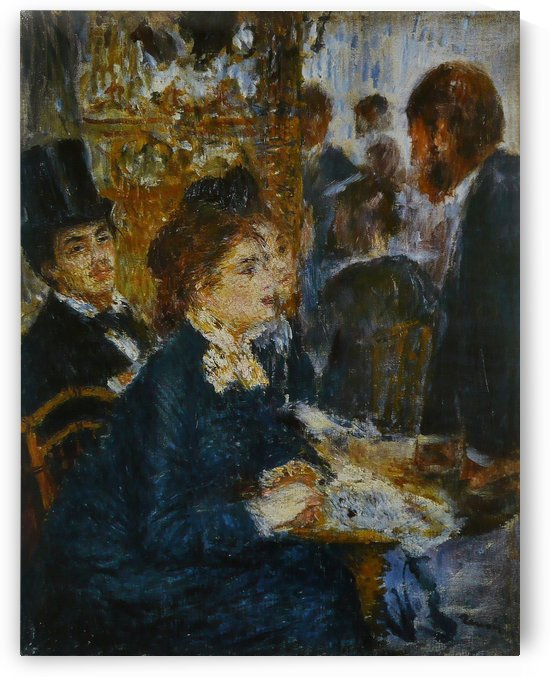Au cafe by Pierre Auguste Renoir