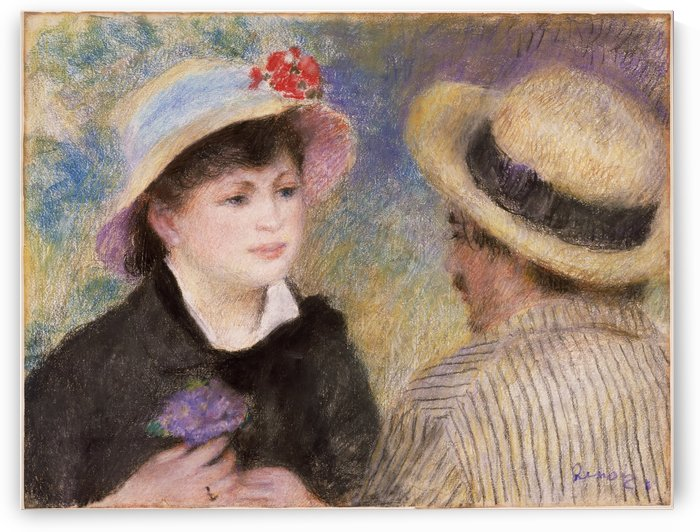 Boating Couple by Pierre Auguste Renoir