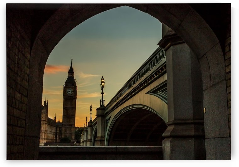 Big Ben Sunset by Brian Doherty