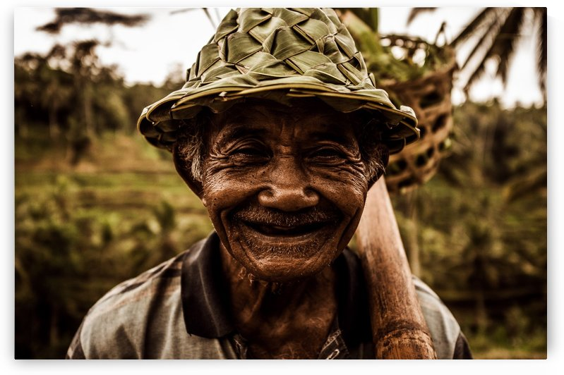 Rice Field Worker by Brian Doherty