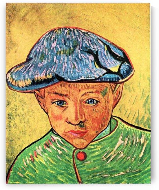 Camille Roulin by Van Gogh by Van Gogh
