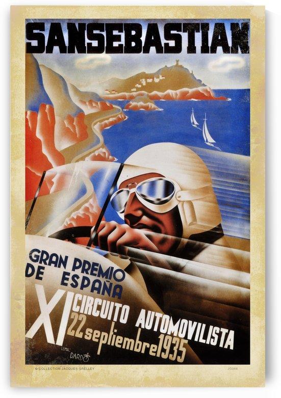 San Sebastian Gran Premio De Espana Ix Circuito Automovilista 1935 by RacingCarsPosters