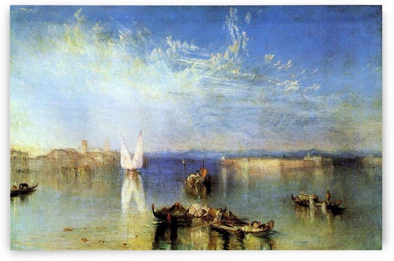 Campo Santo, Venice by Joseph Mallord Turner by Joseph Mallord Turner