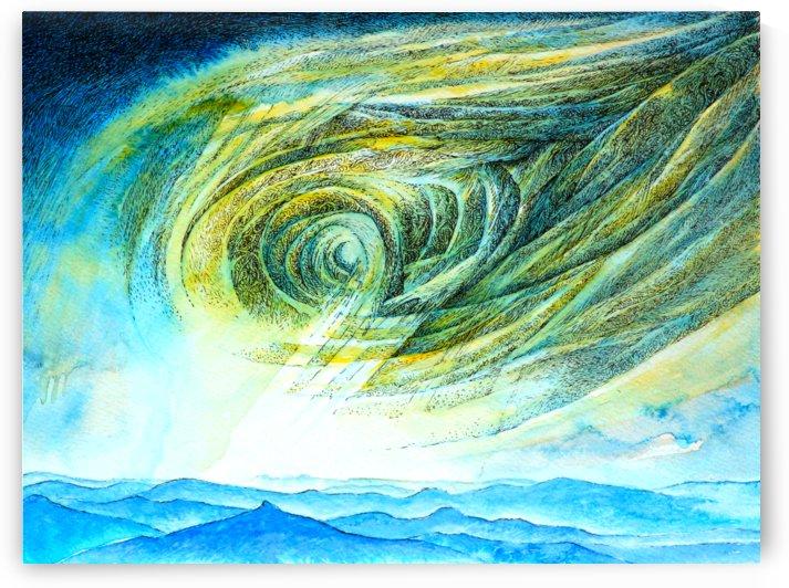 The sky 2 by Pracha Yindee