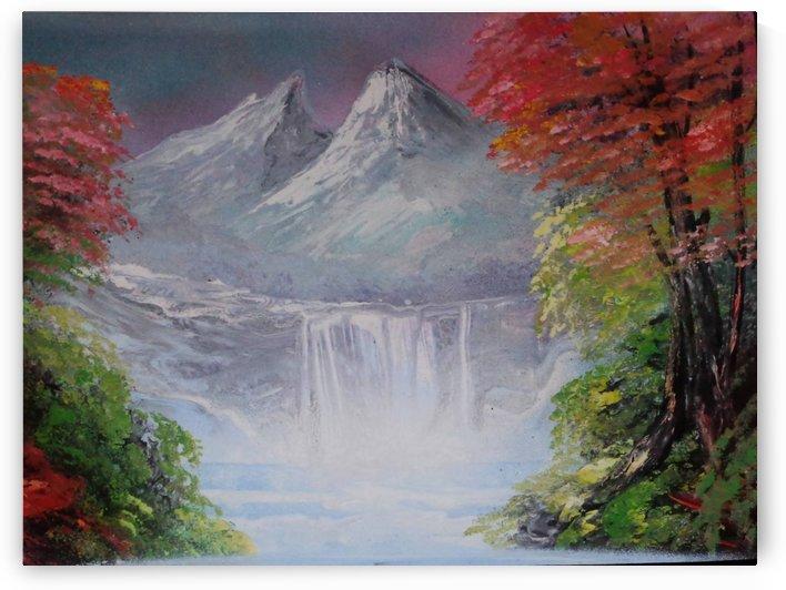 Pastel landscape by Alisa Amor