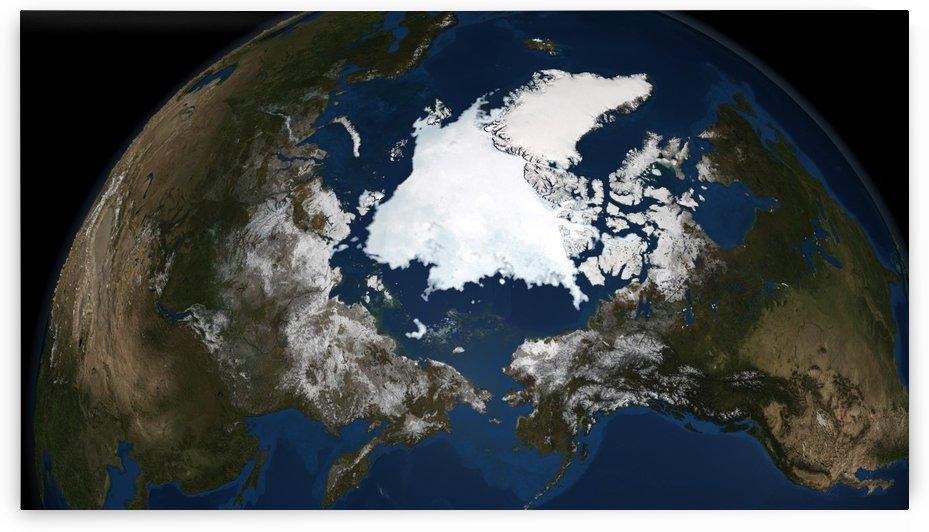 Arctic sea ice. by StocktrekImages