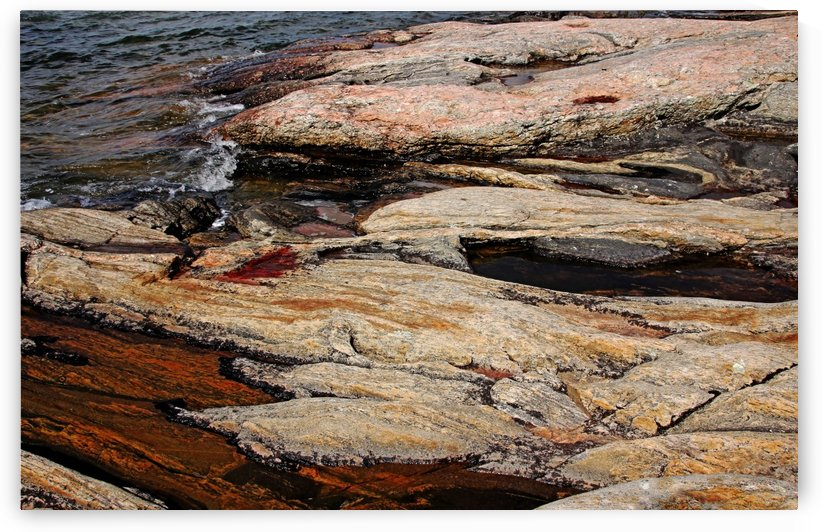 Waters Edge   Wreck Island by Deb Oppermann