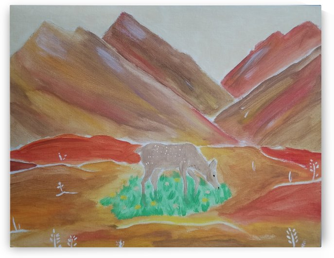 Deer of the Mountains by Aaliyah