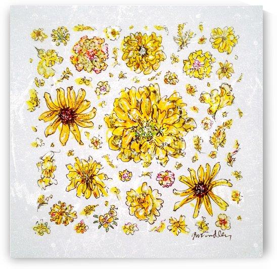 Yellow Flowers by Gerri Findley