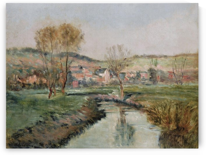Landscape at Ruisseau by Albert lebourg
