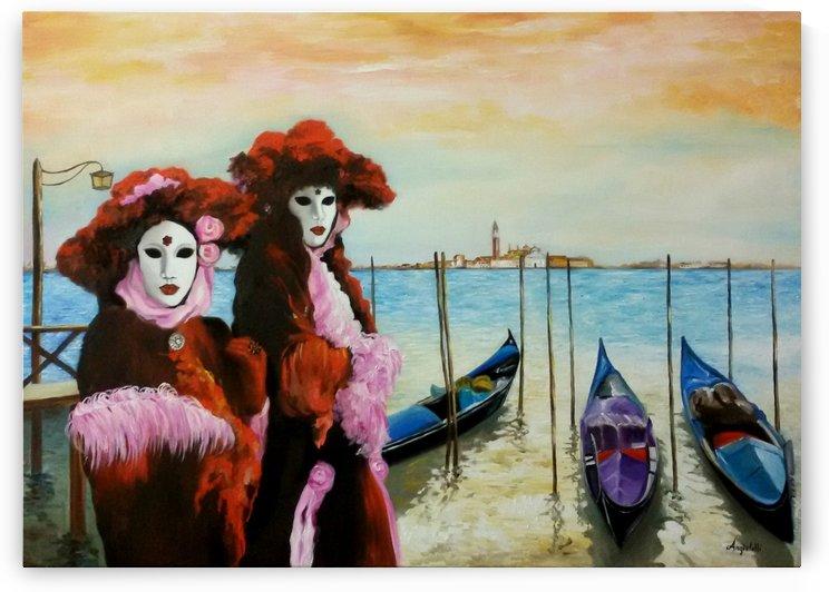 Carnival in Venice by Anna Rita Angiolelli