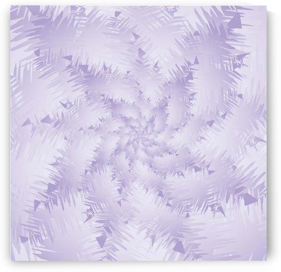 PURPLE Snow Forest by rizu_designs