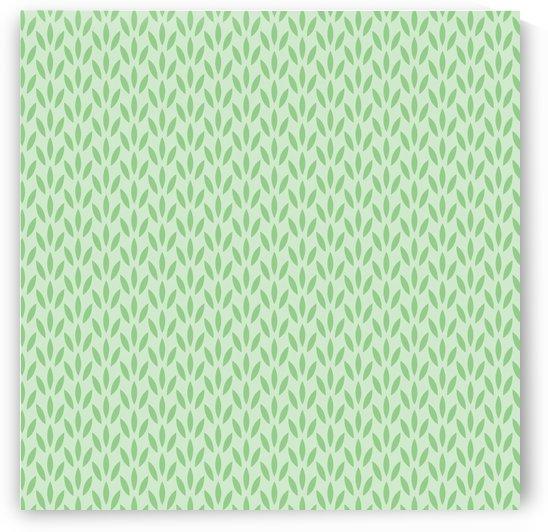 Green Flower Seamless Pattern Background by rizu_designs