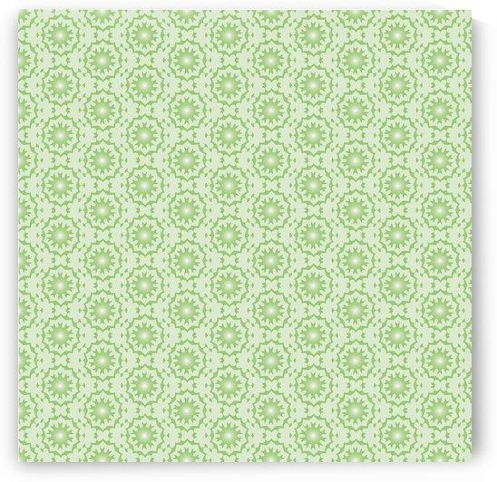 GREEN ARABIC STYLE SEAMLESS PATTERN Background    by rizu_designs
