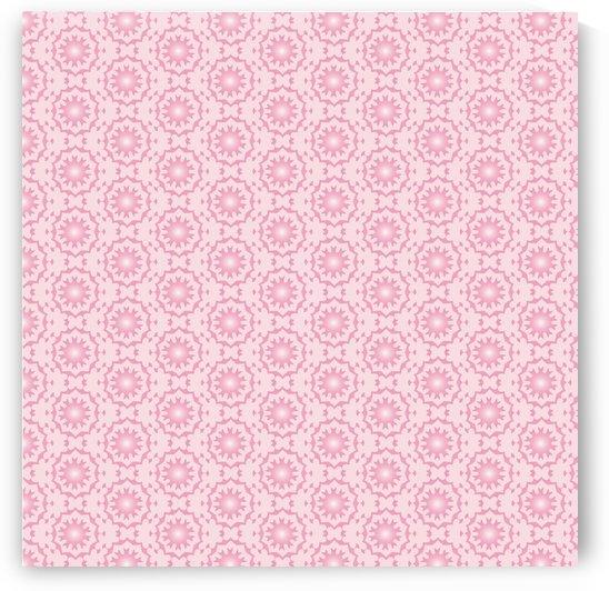 PINK ARABIC STYLE SEAMLESS PATTERN Background  by rizu_designs