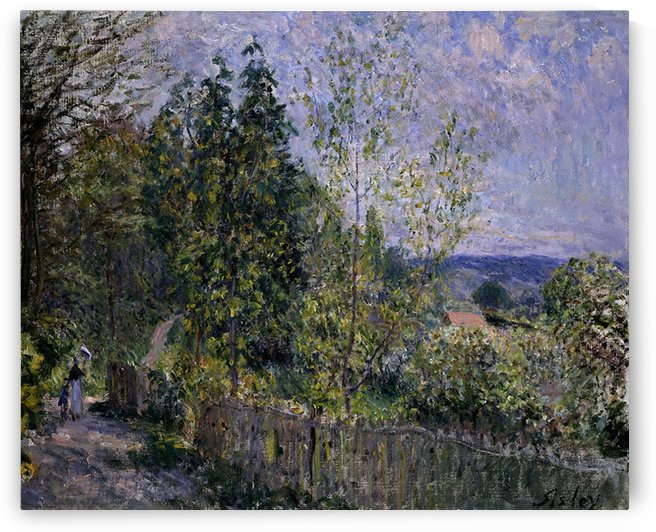 The Road at Campagne by Alfred Sisley