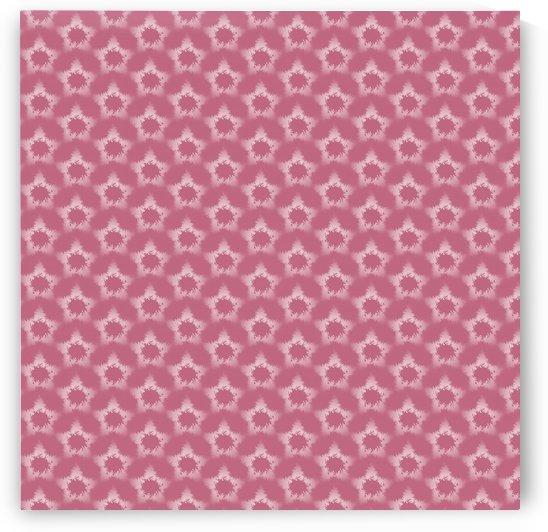 Star Brown snowflake Seamless Pattern  by rizu_designs