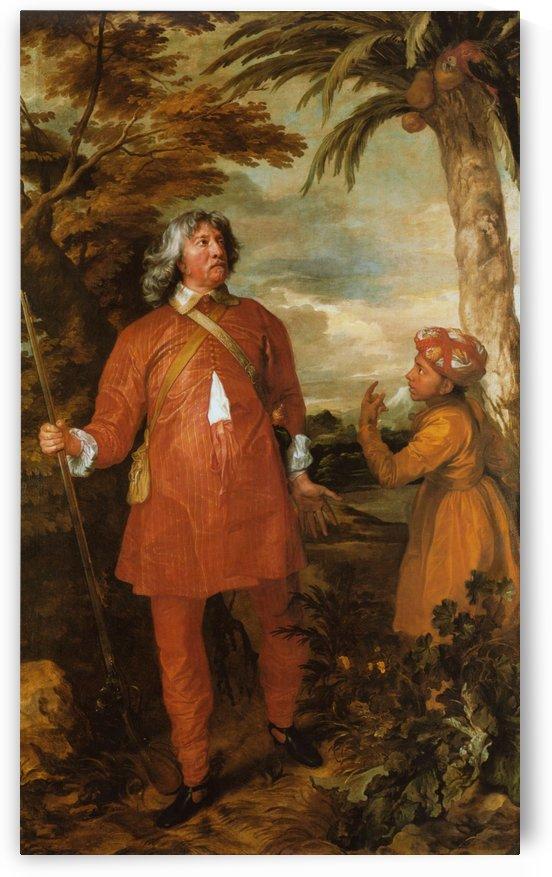 William Feilding, 1st Earl of Denbigh by Anthony van Dyck