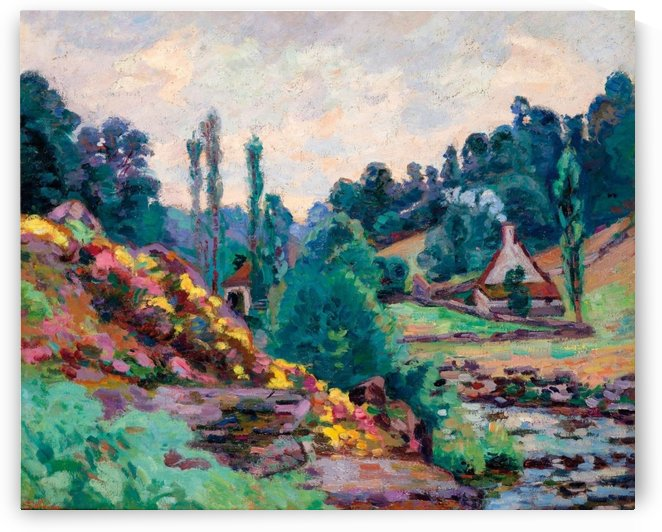 The Mill of Jonon Creuse by Armand Guillaumin