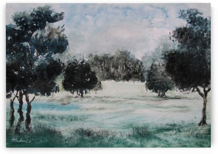 Landscape 2 by Pracha Yindee