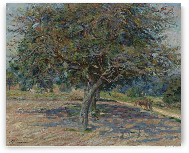 Trees at Ile-de-France by Armand Guillaumin