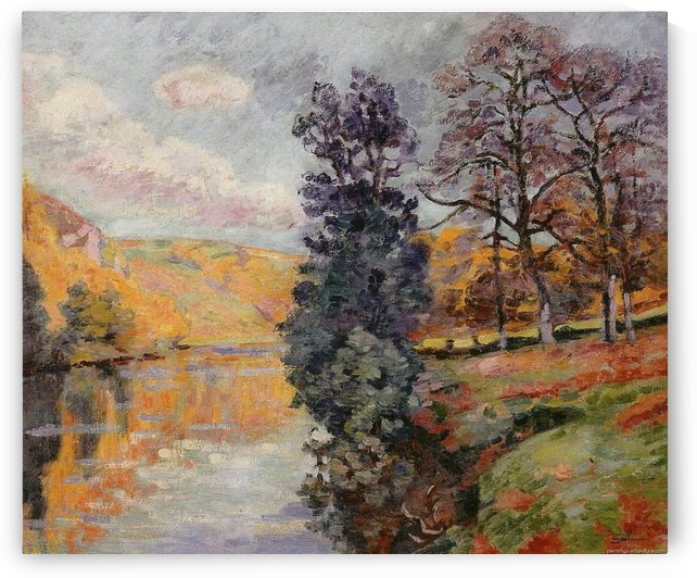 The Echo Rock, Crozant by Armand Guillaumin