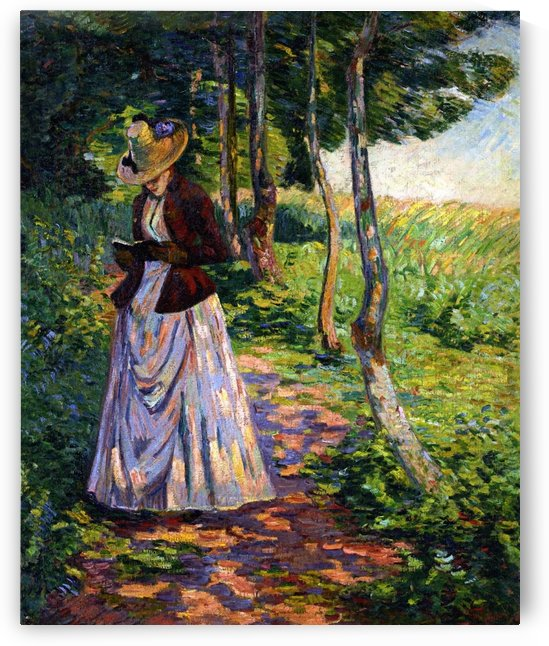 Madame Guillaumin by Armand Guillaumin
