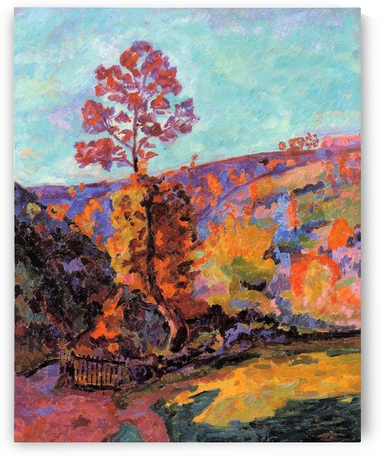 Landscape of the Crozant by Armand Guillaumin