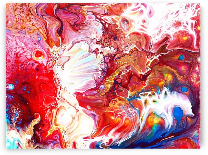 Abstract Painting L01_OSG by One Simple Gallery