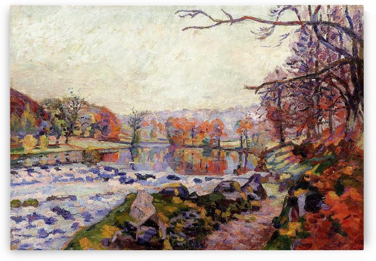 The Valley of Creuse by Armand Guillaumin