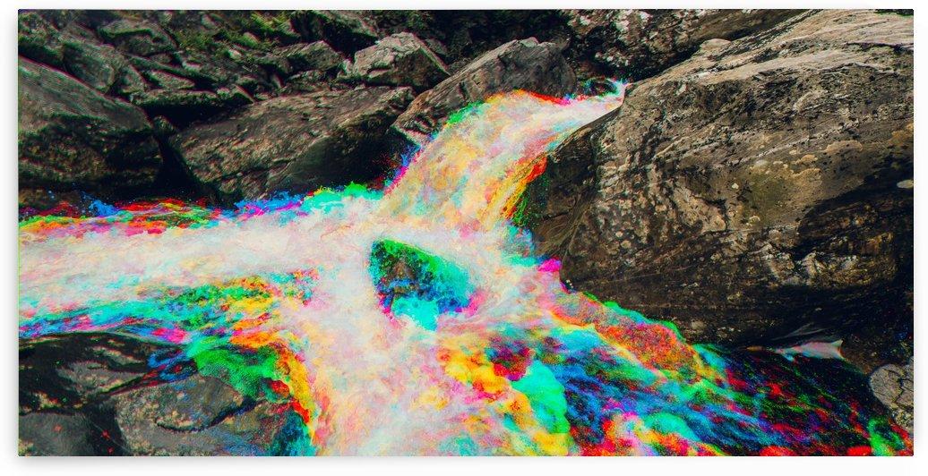 Glen Shiel River - Colorflow 1 by Jacob Roy