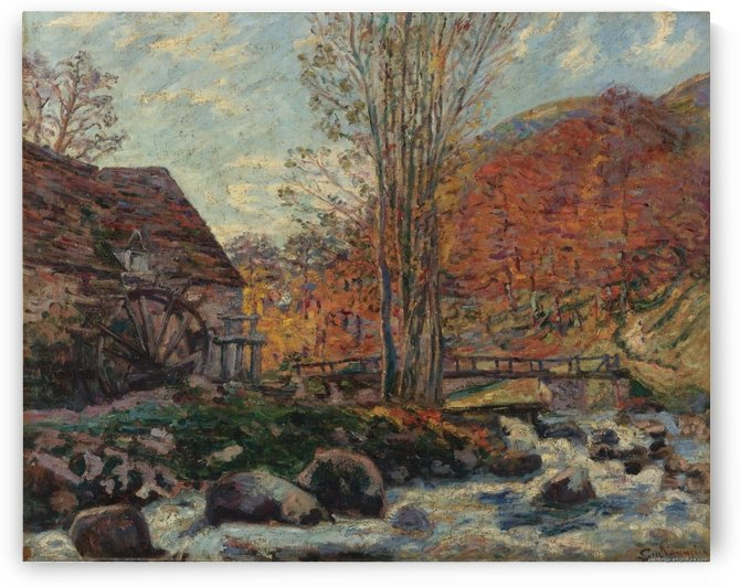 The Watermill by Armand Guillaumin