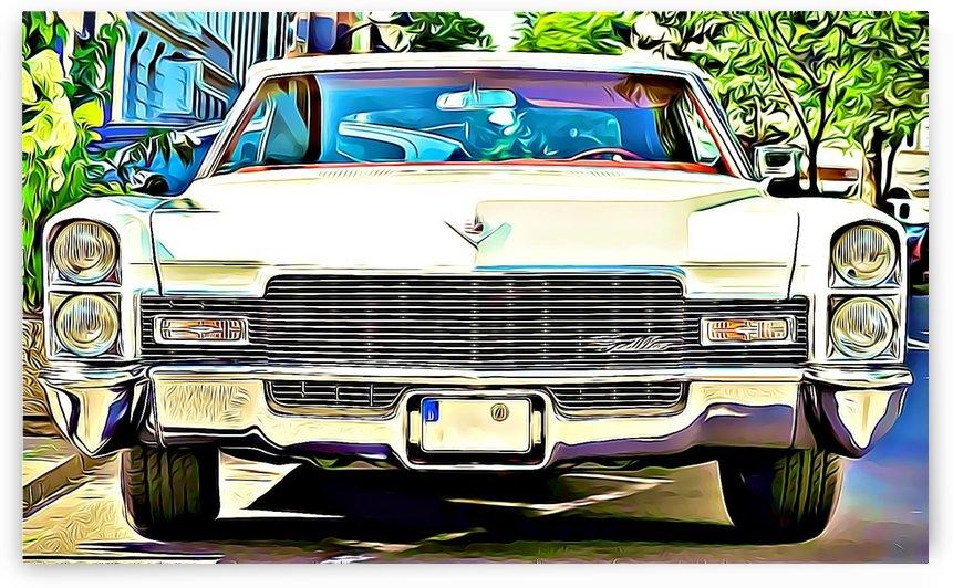 auto cadillac oldtimer classic  by MIRIAM