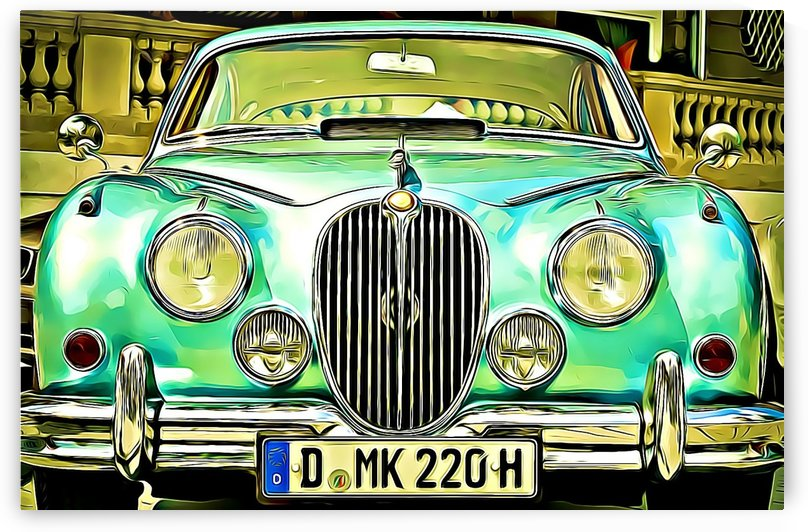 auto jaguar xk  by MIRIAM
