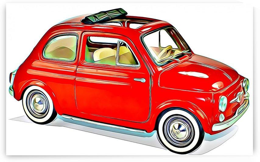 fiat model cars  by MIRIAM