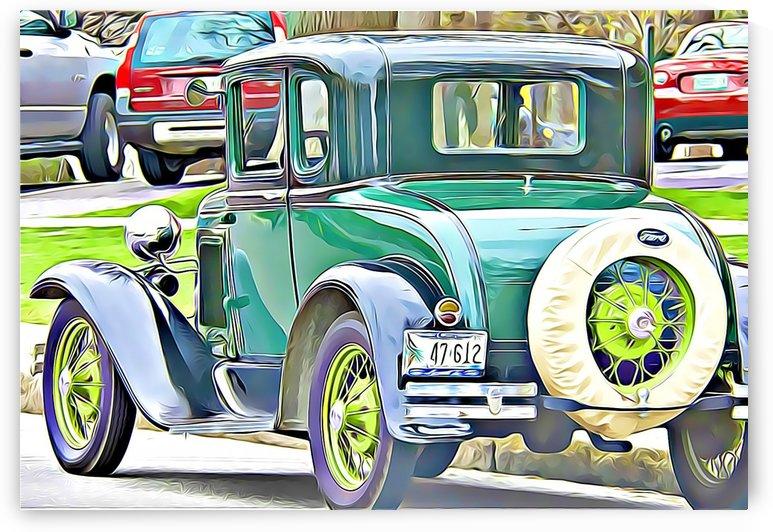 old car  by MIRIAM