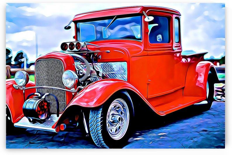 vintage truck by MIRIAM