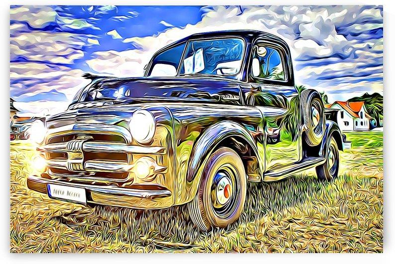 vintage classic car by MIRIAM