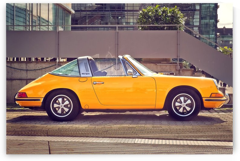 classic sports car by MIRIAM