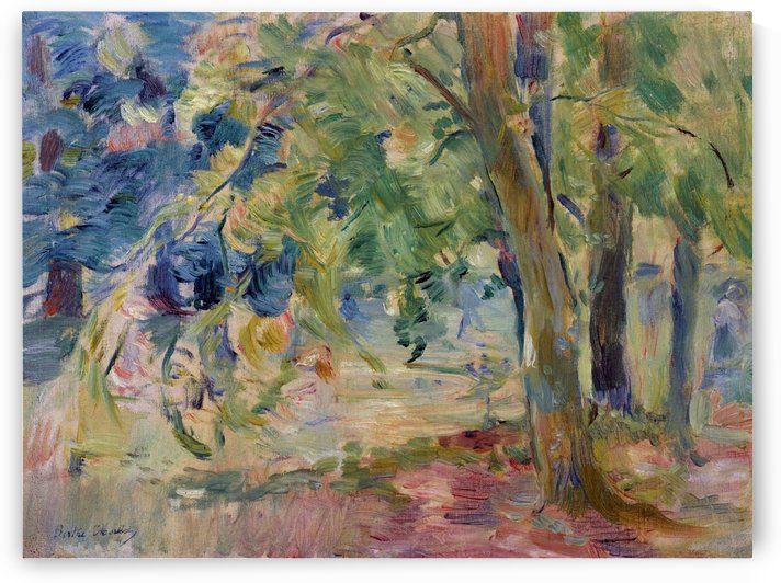 The Forest of Mesnil by Berthe Morisot