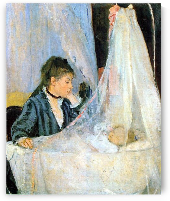The Thicket by Berthe Morisot