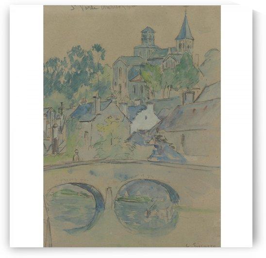 St. Vorle, Chatillon-sur-Seine by Camille Pissarro
