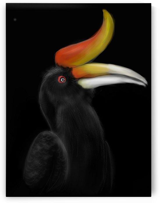 Rhinocerous Hornbill by Su Yi