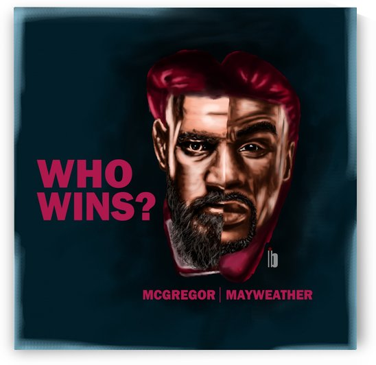 mayweather conor by Bervits
