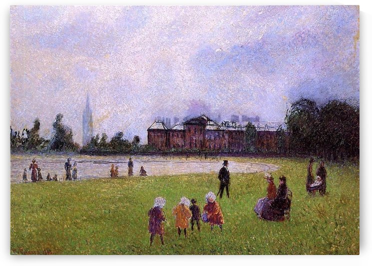 Kensington Gardens, London by Camille Pissarro