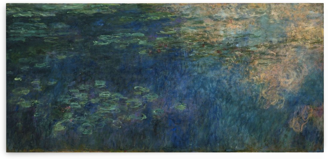 Reflections of Clouds on the Water-Lily Pond by Claude Monet