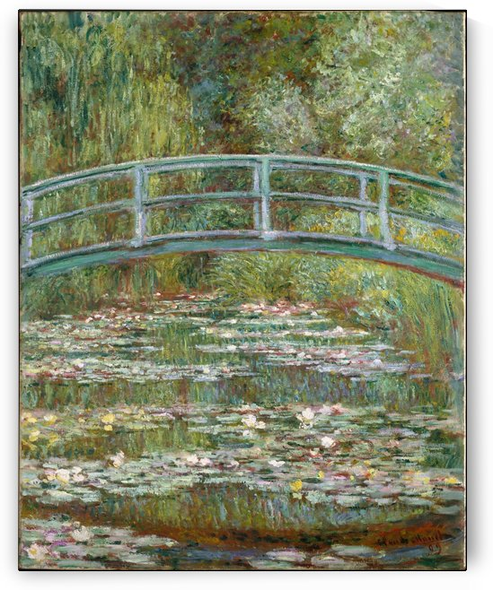 The Pool with Waterlilies by Claude Monet